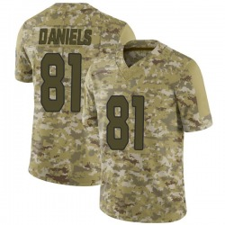 Darrell Daniels Arizona Cardinals Men's Limited 2018 Salute to Service Jersey - Camo