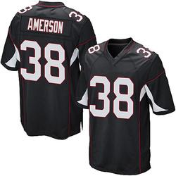 David Amerson Arizona Cardinals Men's Game Alternate Nike Jersey - Black