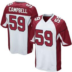 De'Vondre Campbell Arizona Cardinals Men's Game Nike Jersey - White