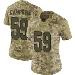 De'Vondre Campbell Arizona Cardinals Women's Limited 2018 Salute to Service Nike Jersey - Camo