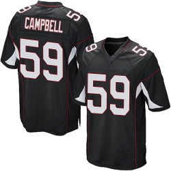 De'Vondre Campbell Arizona Cardinals Youth Game Alternate Nike Jersey - Black