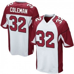Derrick Coleman Arizona Cardinals Men's Game Nike Jersey - White