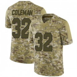 Derrick Coleman Arizona Cardinals Men's Limited 2018 Salute to Service Jersey - Camo