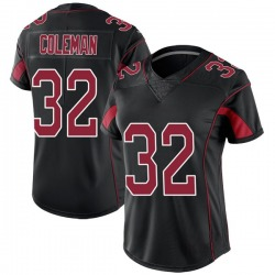 Derrick Coleman Arizona Cardinals Women's Limited Color Rush Nike Jersey - Black