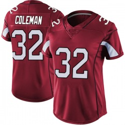 Derrick Coleman Arizona Cardinals Women's Limited Vapor Team Color Untouchable Nike Jersey - Red