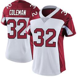 Derrick Coleman Arizona Cardinals Women's Limited Vapor Untouchable Nike Jersey - White