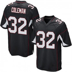 Derrick Coleman Arizona Cardinals Youth Game Alternate Nike Jersey - Black