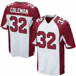 Derrick Coleman Arizona Cardinals Youth Game Nike Jersey - White