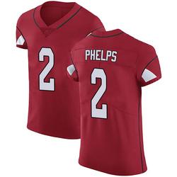 Devin Phelps Arizona Cardinals Men's Elite Team Color Vapor Untouchable Nike Jersey - Red
