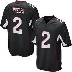 Devin Phelps Arizona Cardinals Men's Game Alternate Nike Jersey - Black