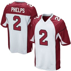 Devin Phelps Arizona Cardinals Men's Game Nike Jersey - White