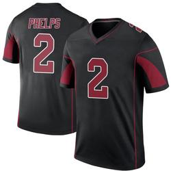 Devin Phelps Arizona Cardinals Youth Color Rush Legend Nike Jersey - Black