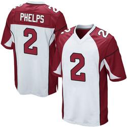 Devin Phelps Arizona Cardinals Youth Game Nike Jersey - White