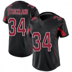 Dontae Strickland Arizona Cardinals Women's Limited Color Rush Nike Jersey - Black