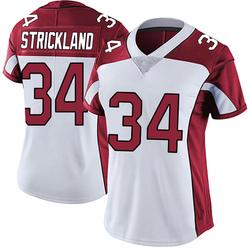 Dontae Strickland Arizona Cardinals Women's Limited Vapor Untouchable Nike Jersey - White