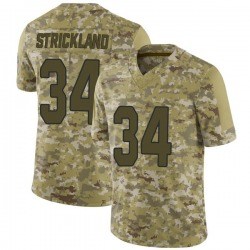 Dontae Strickland Arizona Cardinals Youth Limited 2018 Salute to Service Jersey - Camo