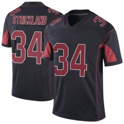 Dontae Strickland Arizona Cardinals Youth Limited Color Rush Vapor Untouchable Nike Jersey - Black