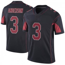 Drew Anderson Arizona Cardinals Men's Limited Color Rush Vapor Untouchable Nike Jersey - Black