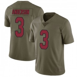 Drew Anderson Arizona Cardinals Men's Limited Salute to Service Nike Jersey - Green