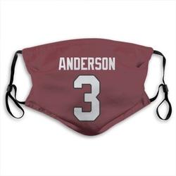 Drew Anderson Arizona Cardinals Reusable & Washable Face Mask