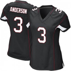 Drew Anderson Arizona Cardinals Women's Game Alternate Nike Jersey - Black