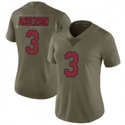 Drew Anderson Arizona Cardinals Women's Limited Salute to Service Nike Jersey - Green