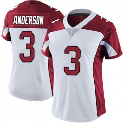 Drew Anderson Arizona Cardinals Women's Limited Vapor Untouchable Nike Jersey - White