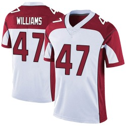 Drew Williams Arizona Cardinals Men's Limited Vapor Untouchable Nike Jersey - White