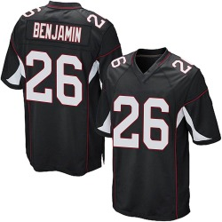 Eno Benjamin Arizona Cardinals Men's Game Alternate Nike Jersey - Black