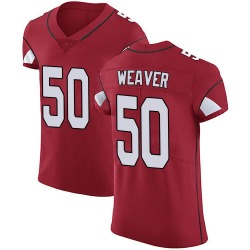 Evan Weaver Arizona Cardinals Men's Elite Team Color Vapor Untouchable Nike Jersey - Red