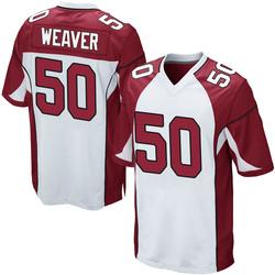 Evan Weaver Arizona Cardinals Youth Game Nike Jersey - White
