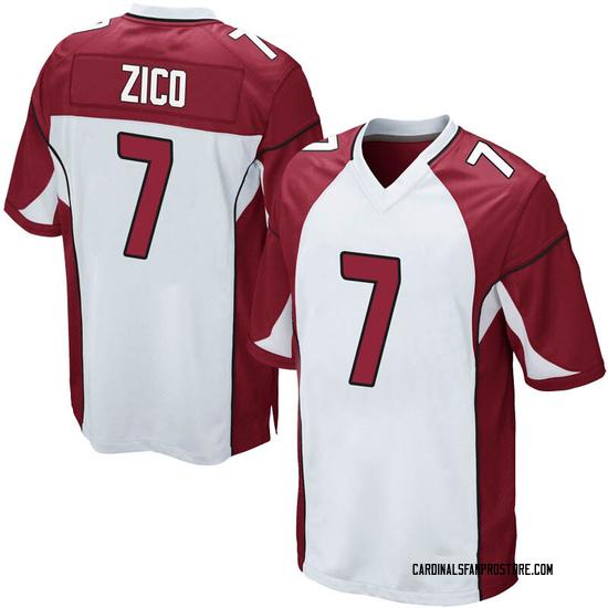 Isaac Zico Arizona Cardinals Men's Game Nike Jersey - White