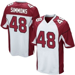 Isaiah Simmons Arizona Cardinals Youth Game Nike Jersey - White
