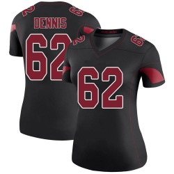 Jackson Dennis Arizona Cardinals Women's Color Rush Legend Nike Jersey - Black