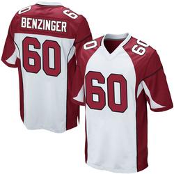 Jake Benzinger Arizona Cardinals Youth Game Nike Jersey - White