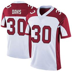 Jalen Davis Arizona Cardinals Youth Limited Vapor Untouchable Nike Jersey - White