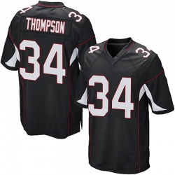 Jalen Thompson Arizona Cardinals Men's Game Alternate Nike Jersey - Black