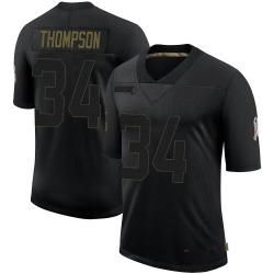 Jalen Thompson Arizona Cardinals Men's Limited 2020 Salute To Service Nike Jersey - Black