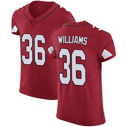 Jarren Williams Arizona Cardinals Men's Elite Team Color Vapor Untouchable Nike Jersey - Red
