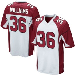 Jarren Williams Arizona Cardinals Men's Game Nike Jersey - White