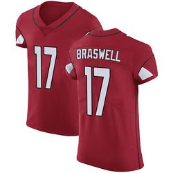 Jermiah Braswell Arizona Cardinals Men's Elite Team Color Vapor Untouchable Nike Jersey - Red