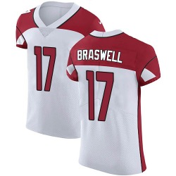 Jermiah Braswell Arizona Cardinals Men's Elite Vapor Untouchable Nike Jersey - White
