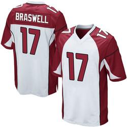 Jermiah Braswell Arizona Cardinals Men's Game Nike Jersey - White