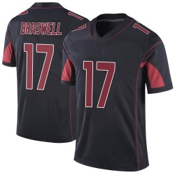 Jermiah Braswell Arizona Cardinals Men's Limited Color Rush Vapor Untouchable Nike Jersey - Black