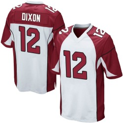 Johnnie Dixon Arizona Cardinals Men's Game Nike Jersey - White