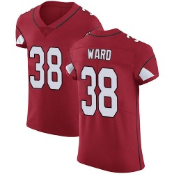 Jonathan Ward Arizona Cardinals Men's Elite Team Color Vapor Untouchable Nike Jersey - Red