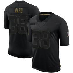 Jonathan Ward Arizona Cardinals Youth Limited 2020 Salute To Service Nike Jersey - Black