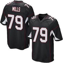 Jordan Mills Arizona Cardinals Youth Game Alternate Nike Jersey - Black