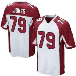 Josh Jones Arizona Cardinals Men's Game Nike Jersey - White