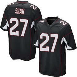 Josh Shaw Arizona Cardinals Men's Game Alternate Nike Jersey - Black